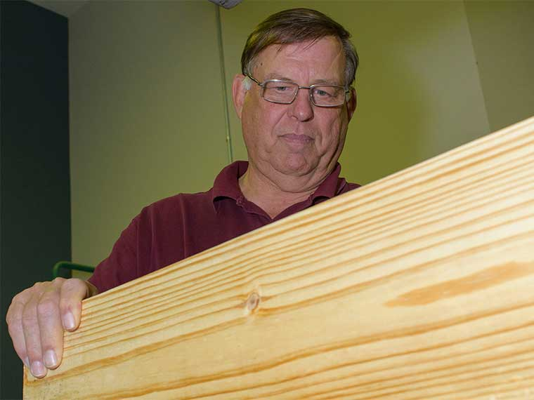 MSU researchers test lumber quality, strength