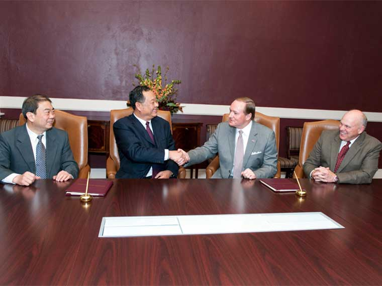 MSU, Shandong Agricultural University in China sign MOA