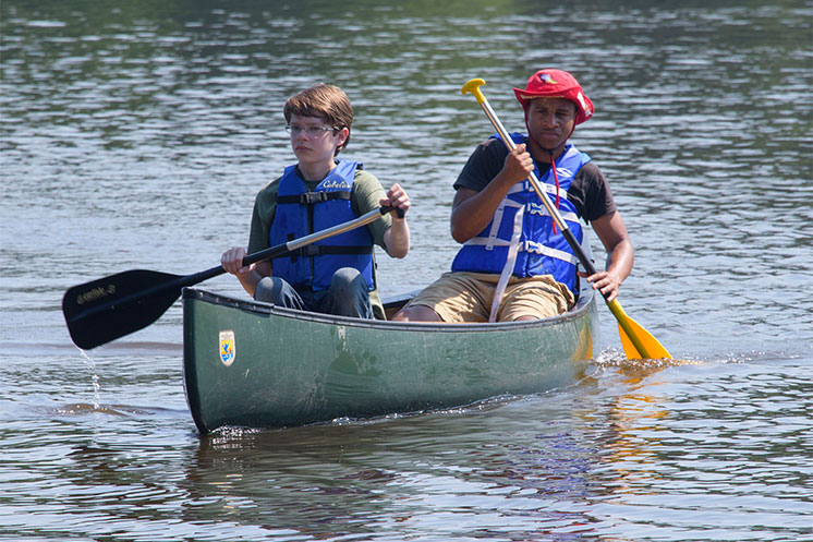 Conservation camps offer educational fun