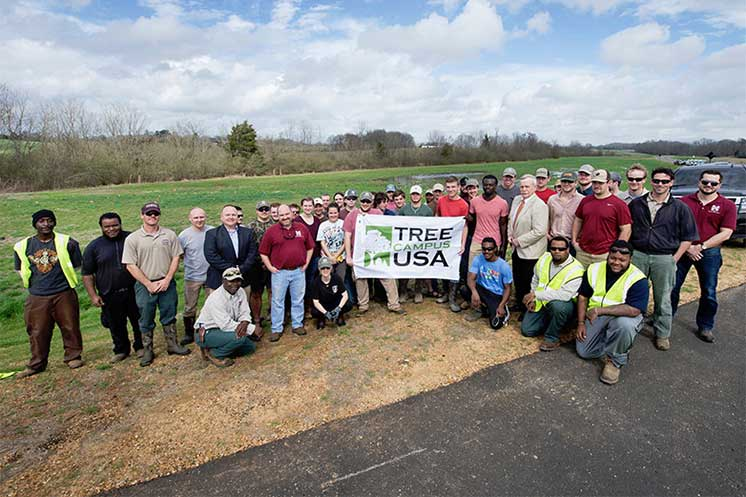 MSU plants 400 trees in Arbor Day celebration