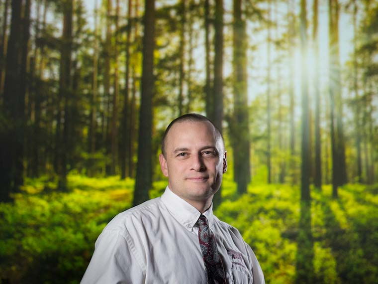 Shmulsky furthers timber research to fuel discovery