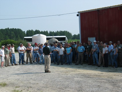 forestry field day usda nrcs bobwhite restoration project